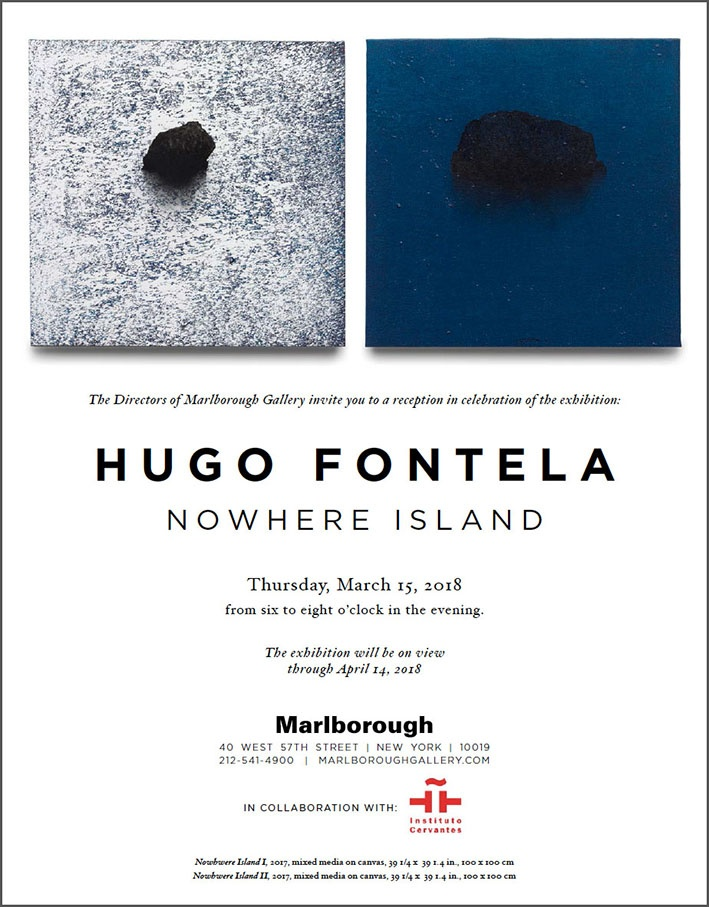 Hugo Fontela en Marlborough Nueva York
