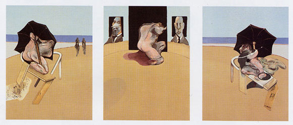 Bacon, Francis: Triptych 1974 - 1977