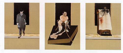 Bacon, Francis: Triptych 1986 - 1987