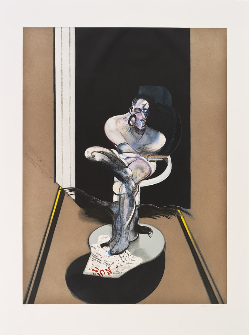 Francis Bacon, Seated figure
