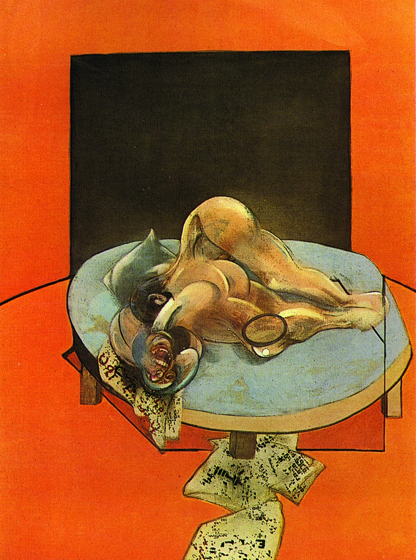 Francis Bacon, Studies of the Human Body 1979 (Central panel)