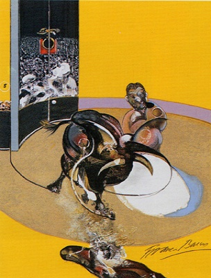 Francis Bacon, Study for a Bullfight No.1
