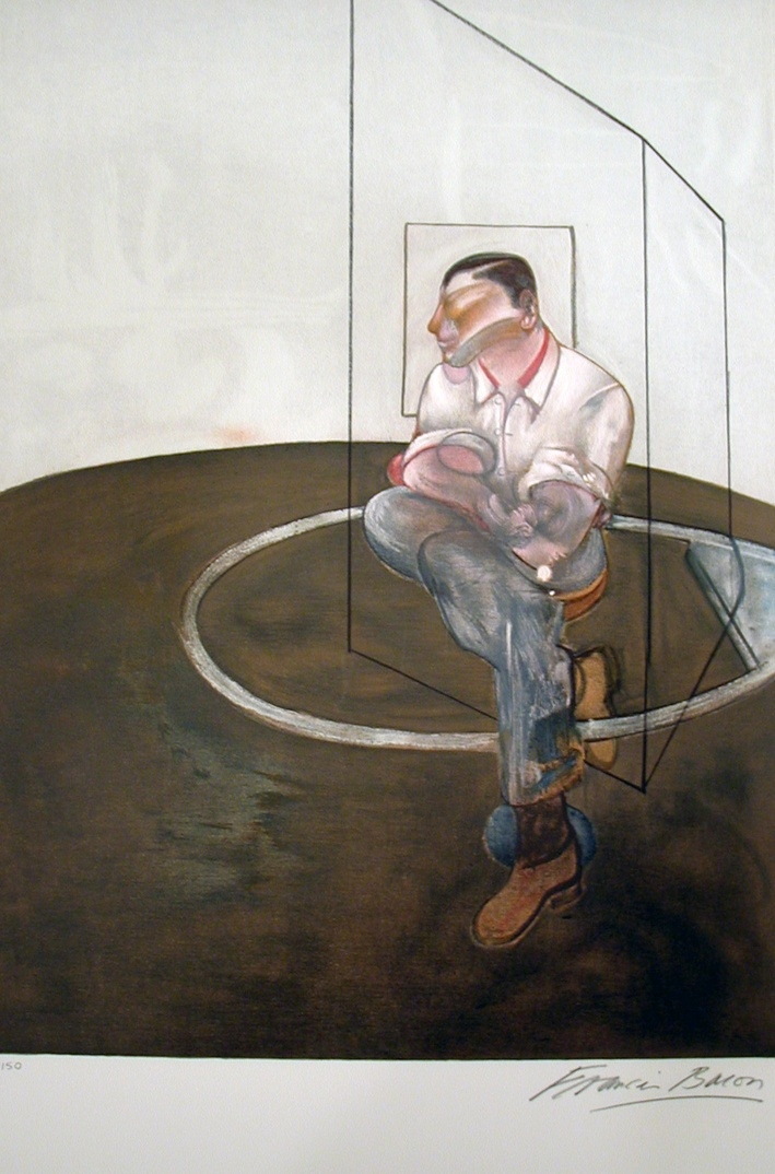 Francis Bacon, Three Studies for a Portrait of John Edwards (R.P)