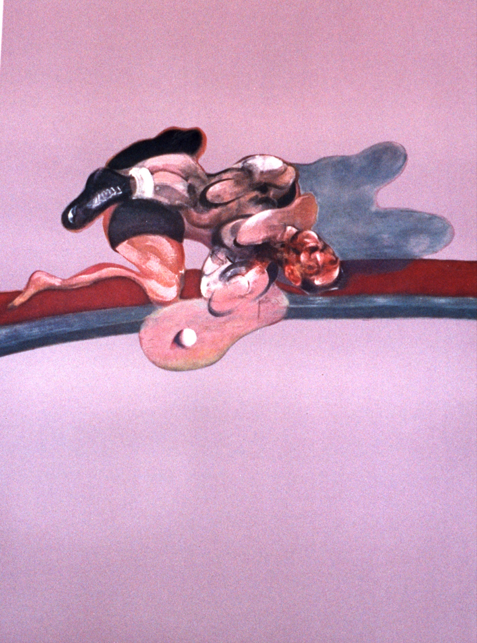 Francis Bacon, Triptych 1971 (left panel)