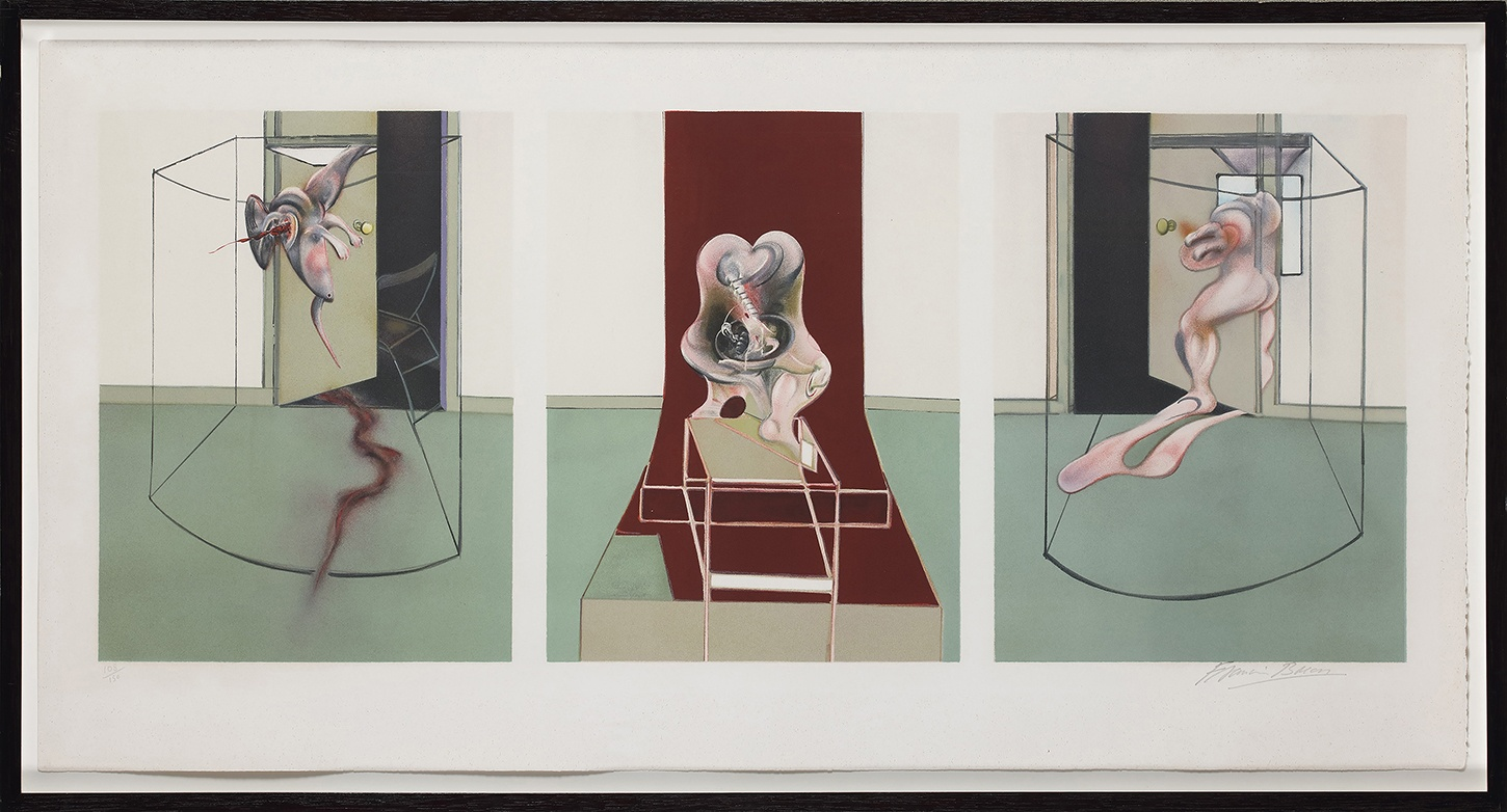 Francis Bacon, Triptych Inspired by the Oresteia of Aeschylus