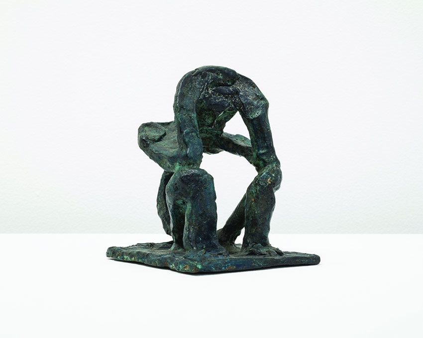 Jacques Lipchitz, Man Leaning on Elbows