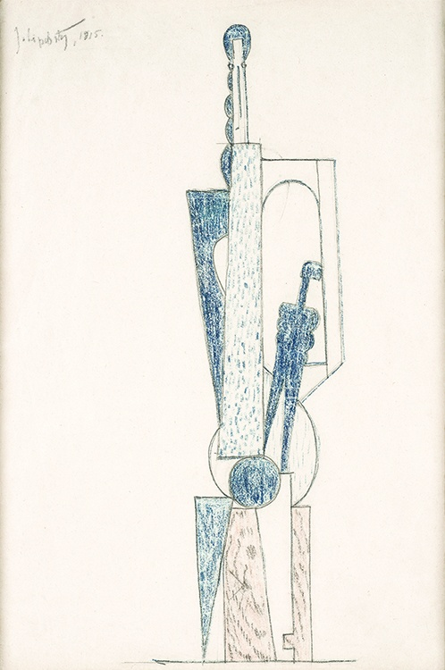 Jacques Lipchitz, Mother and Child (Study for a Standing Woman)