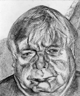 Lucian Freud, Donegal man